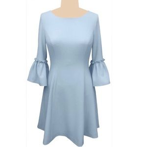 Eliza J Bell Sleeve Fit and Flare